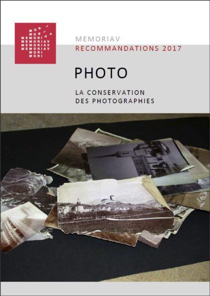 Memoriav, la conservation des photographies.